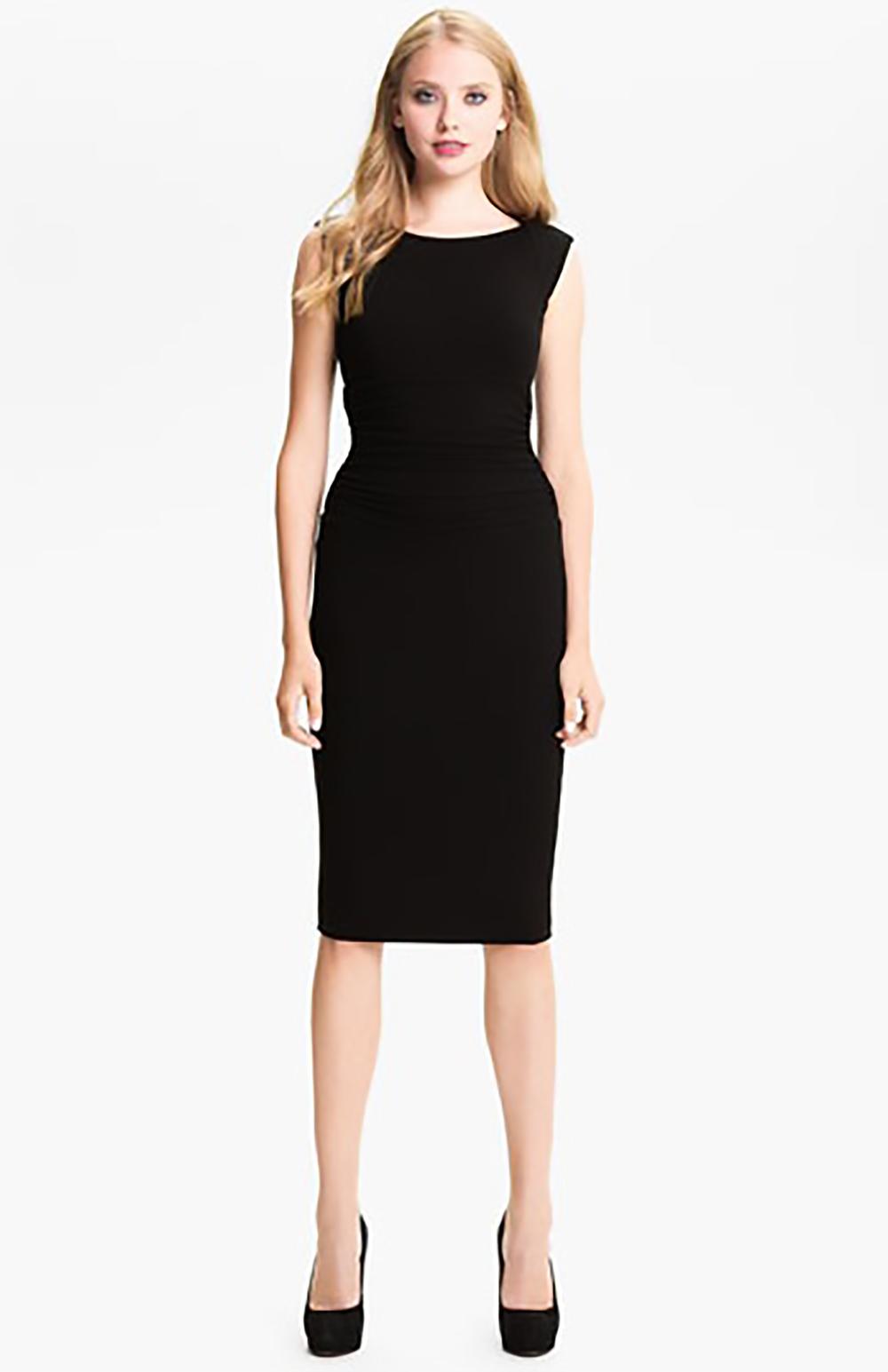 nordstrom B44 dressed by Bailey 44 ruched cap sleeve sheath dress sheath dress 1500.jpg