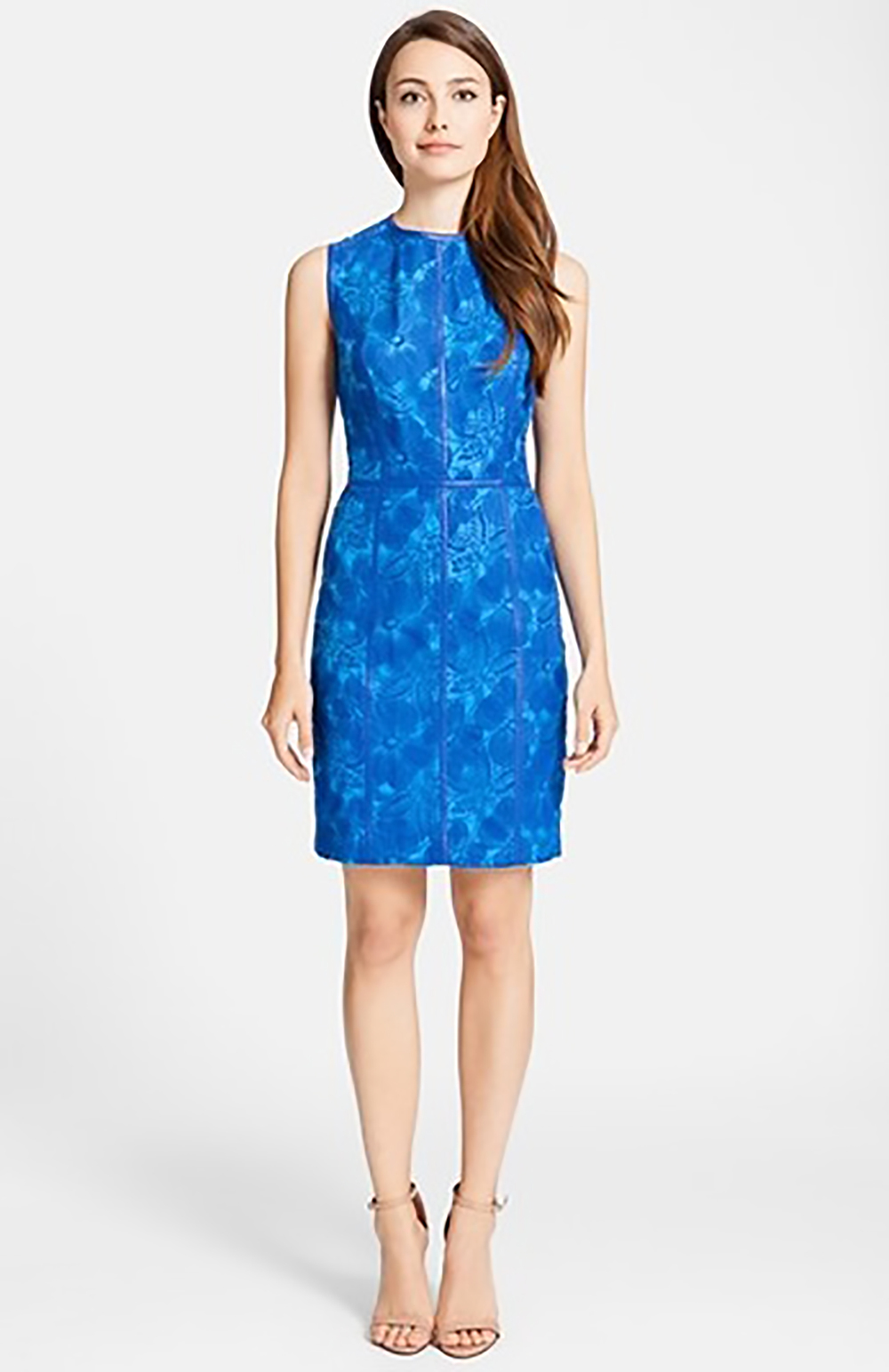 nordstrom cynthia steffe eleonora faux leather trim organza sheath dress 1500.jpg