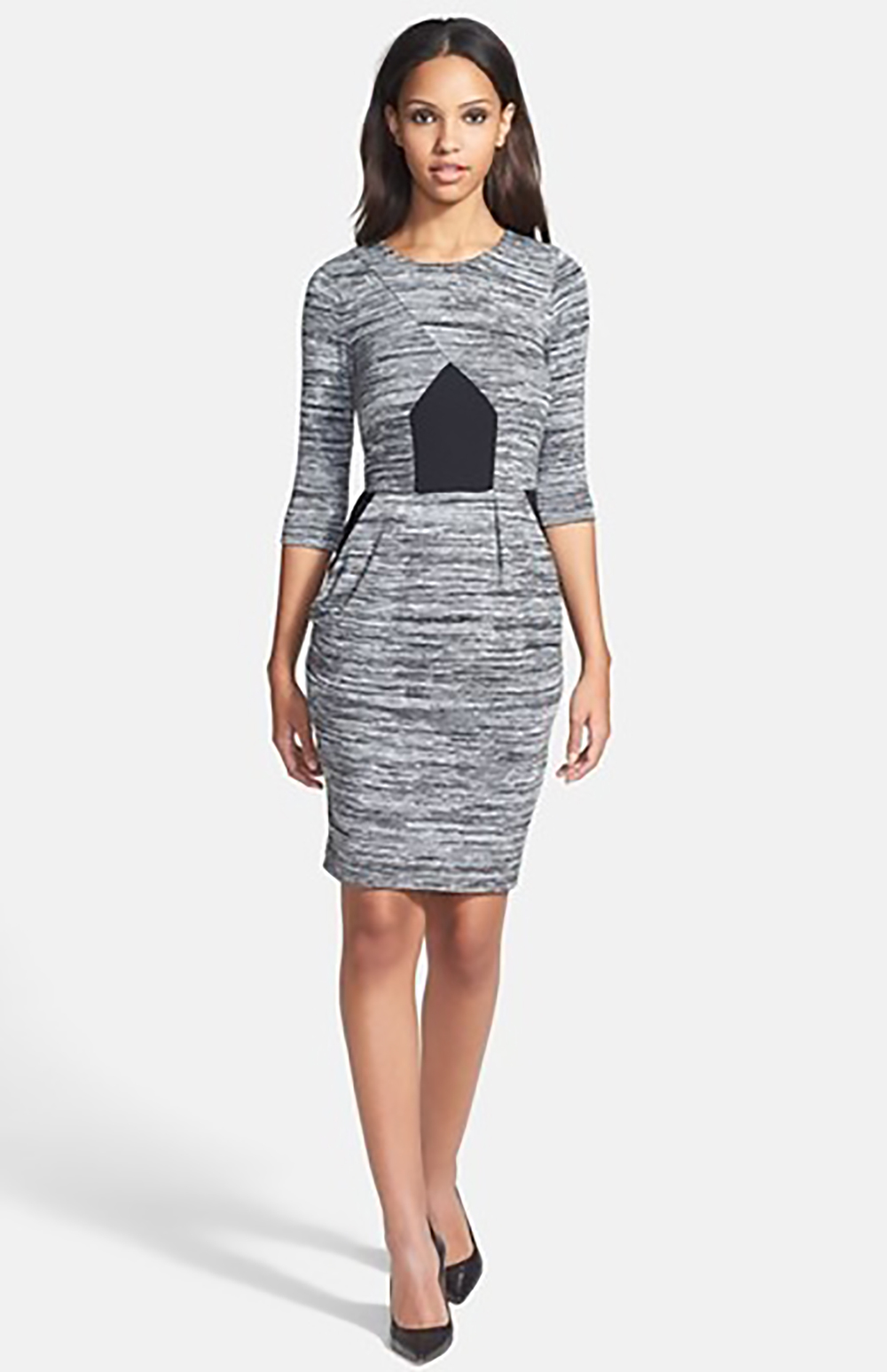 nordstrom french connection fast city space dye sheath dress 1500.jpg