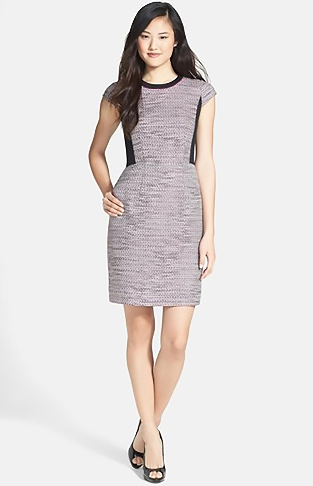 nordstrom halogen tweed & stretch knit sheath dress 1500.jpg