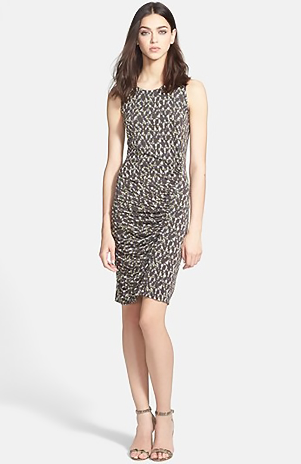 nordstrom halston heritage ruched jersey sheath dress 1500.jpg
