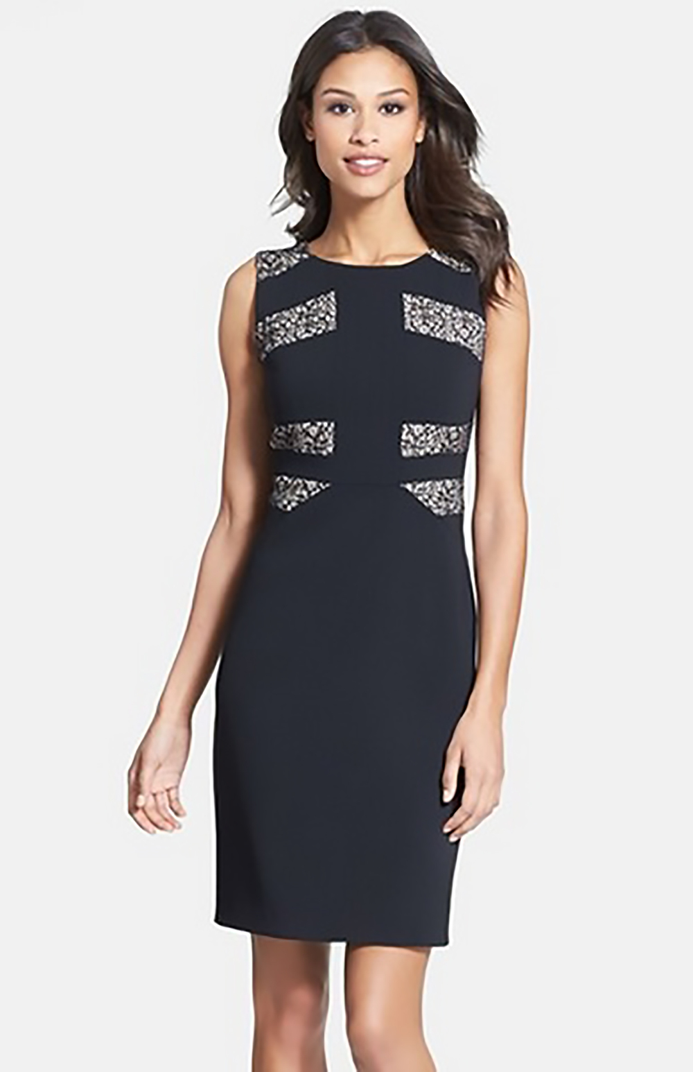 nordstrom ivanka trump lace inset crepe sheath dress 1500.jpg