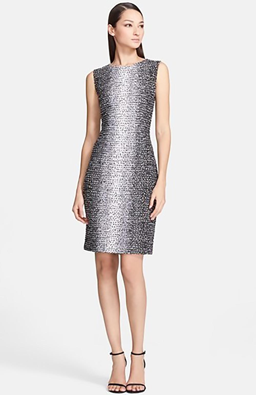 nordstrom st john collection ombre eyelash knit sheath dress 1500.jpg
