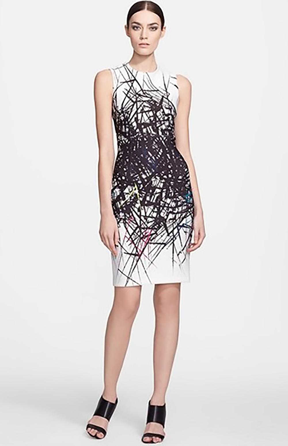 nordstrom yigal azrouel branch print scuba sheath dress 1500.jpg