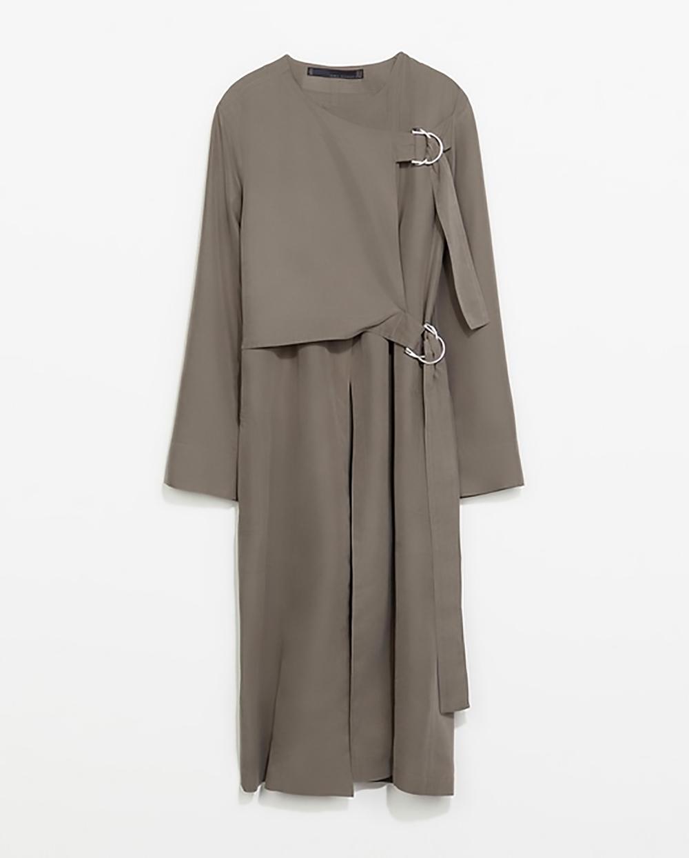 zara UK studio loose fit trenchcoat with buckles 1500.jpg