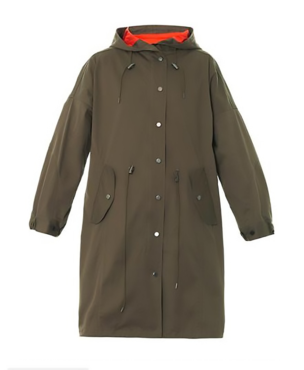 matches DKNY cotton blend canvas parka rain gear 1500.jpg