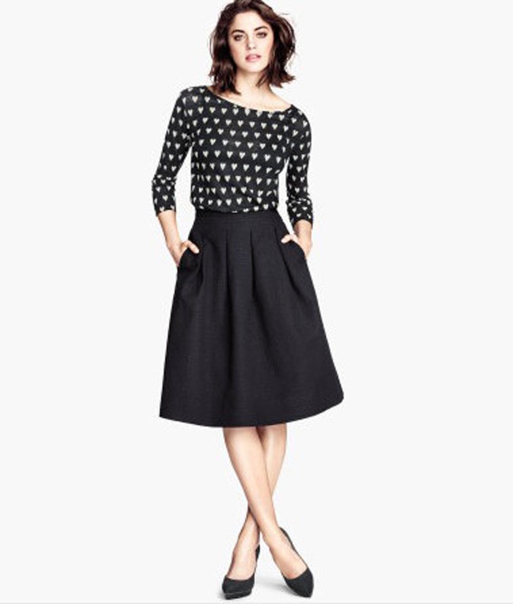 Crinkled Skirt £24.99
