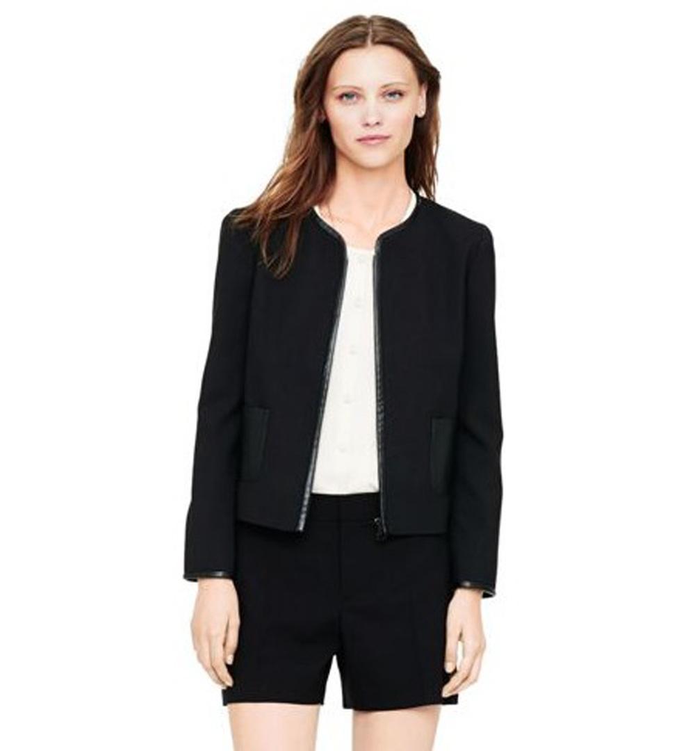 Lillian Cropped Wool Jacket $179