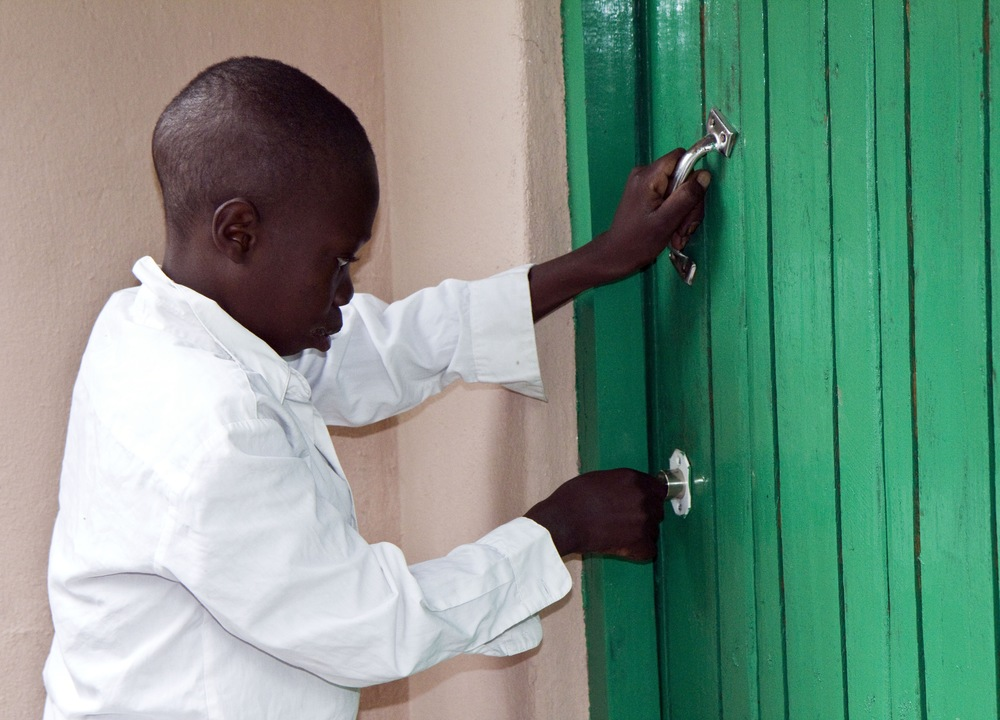 Celestino opening his GD House for first time.jpg