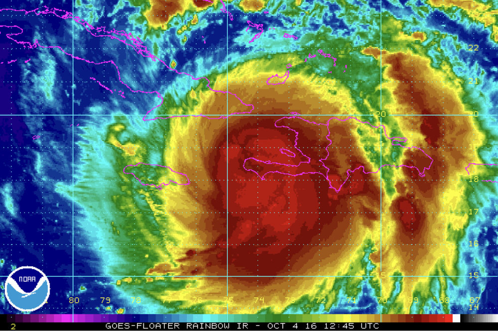 Photo courtesy of the National Hurricane Center.