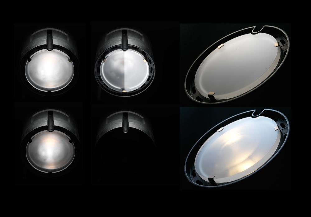 B2's lamphuvud - en stilstudie.
