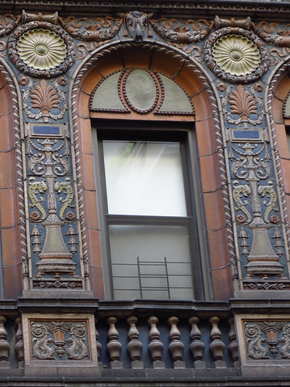 Ornate friezes / bas reliefs