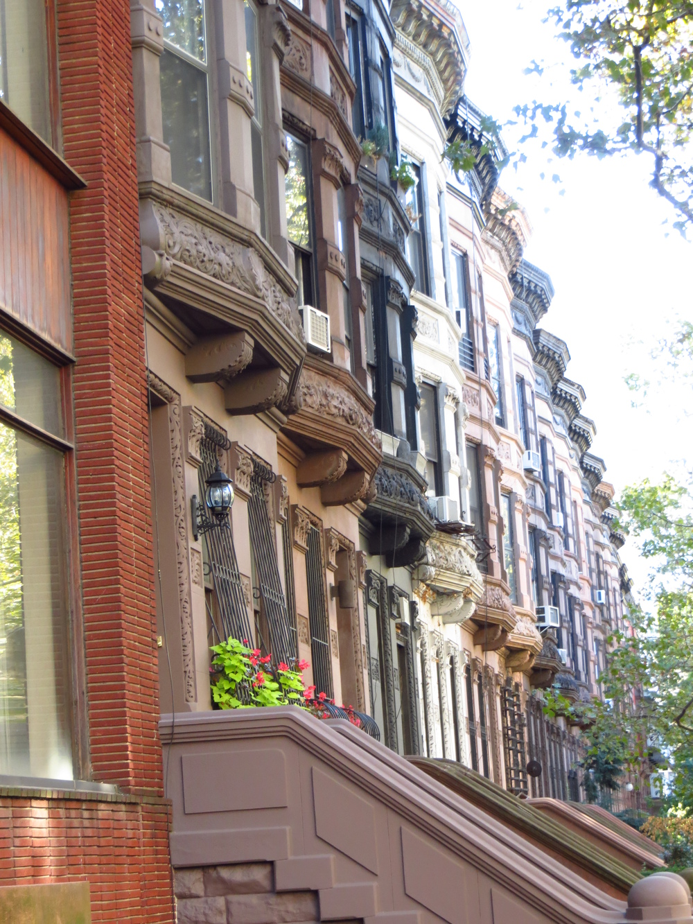 More archetypal brownstones