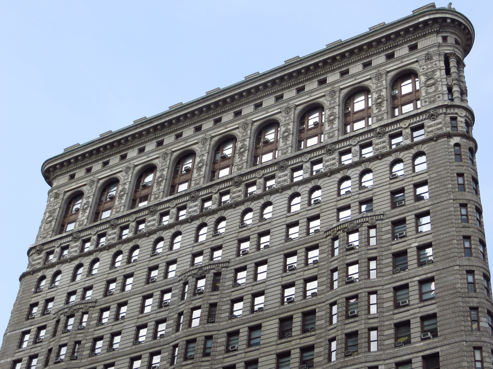 Side of Flatiron Building