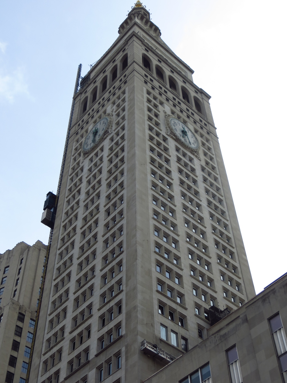 Met Life Tower (built 1909, tallest building in the world for 4 years)