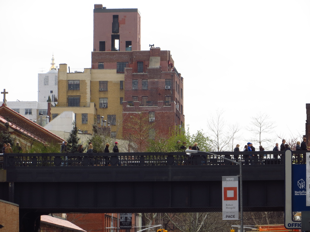 View of Highline in Chelsea #3