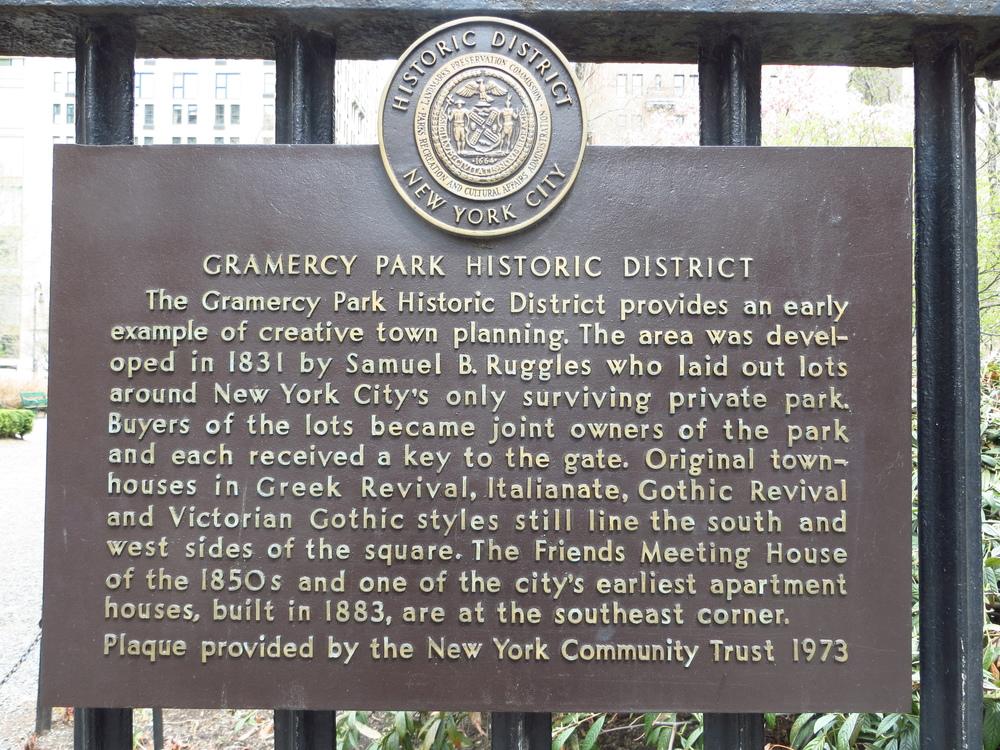 Gramercy Park History