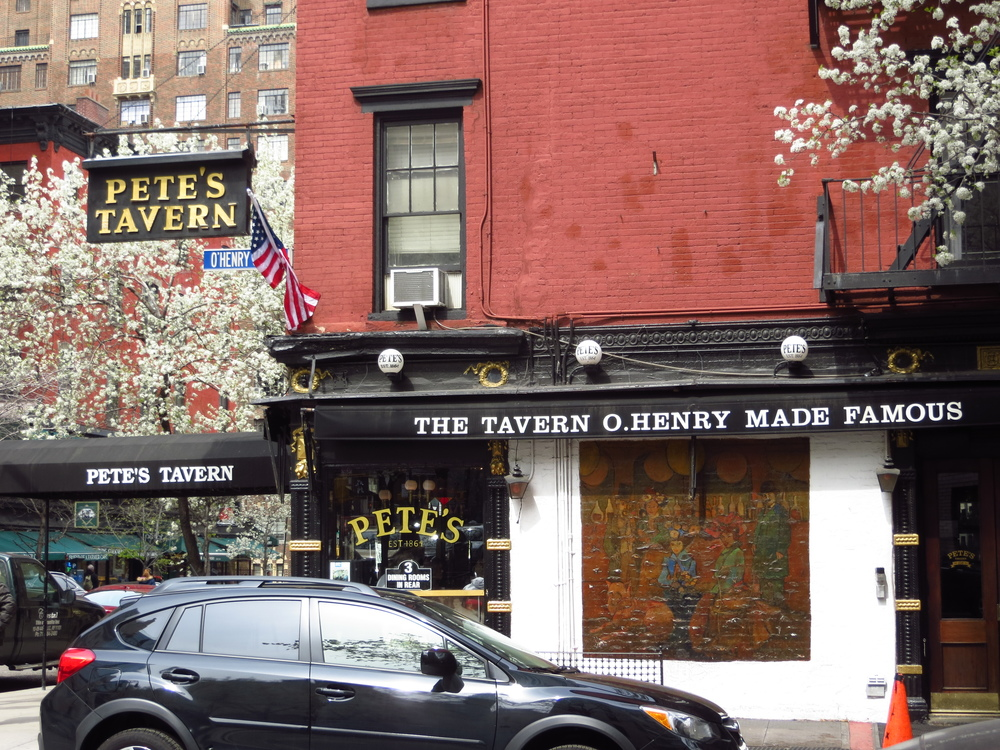 "Second oldest bar in NYC, allegedly where ""Gift of the Magi"" was written"