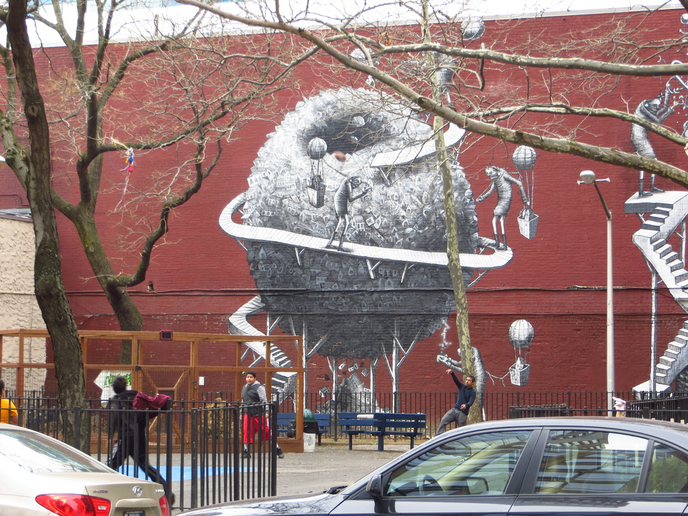Playground street art