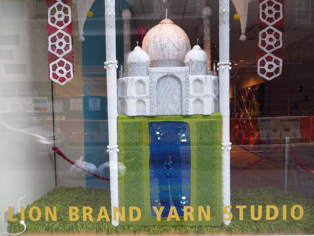 Yarn Taj Mahal