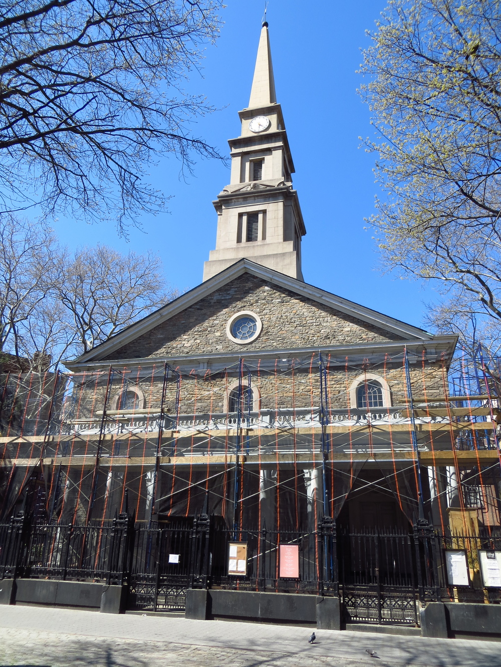 St. Mark's Church in the Bowery (built 1795)