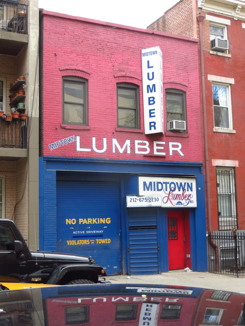 For all your Midtown lumber needs