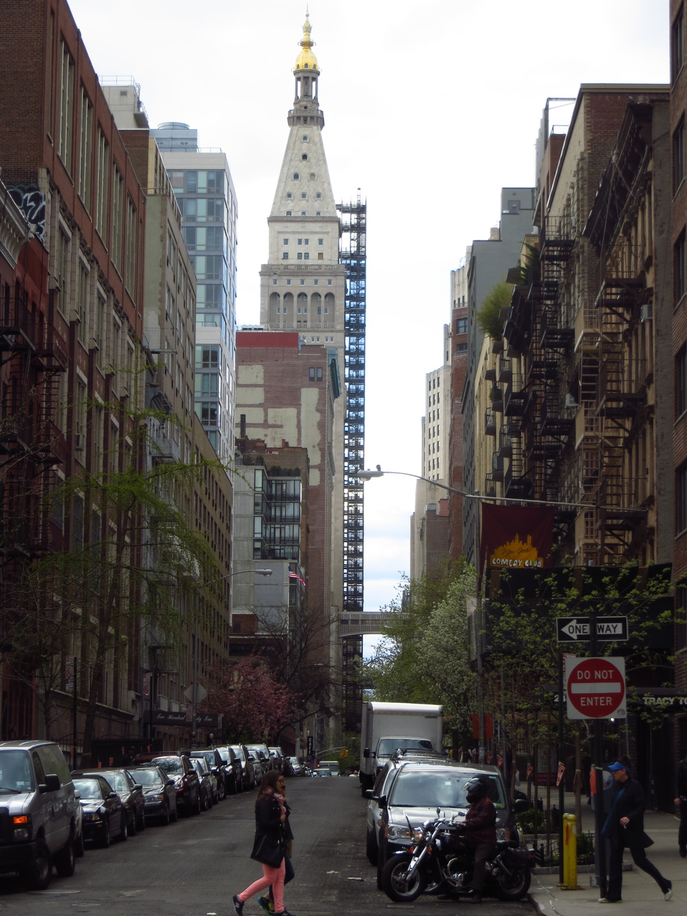 Street view of Met Life Building