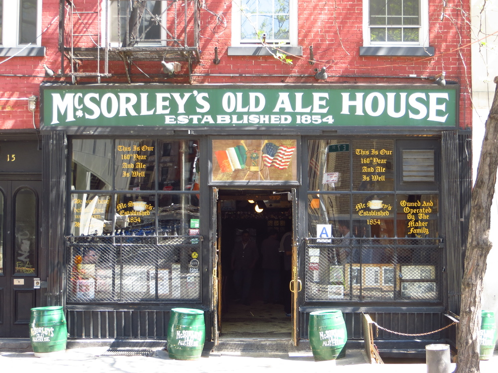 Oldest (possibly) bar in Manhattan in continuous operation (est. 1854)