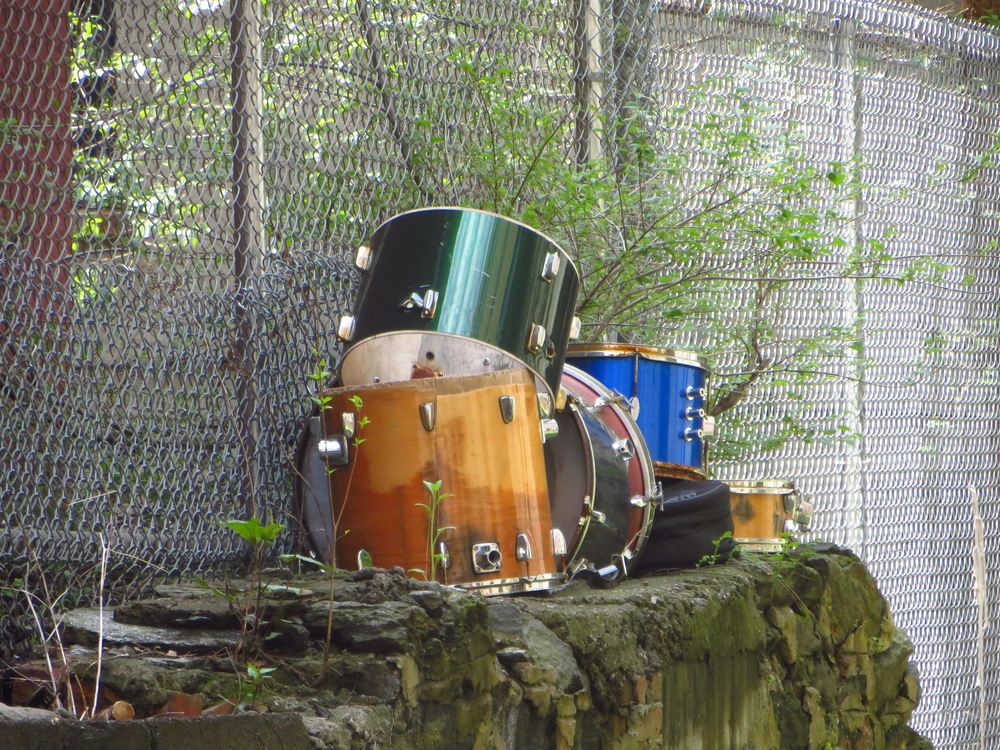 Abandoned drums