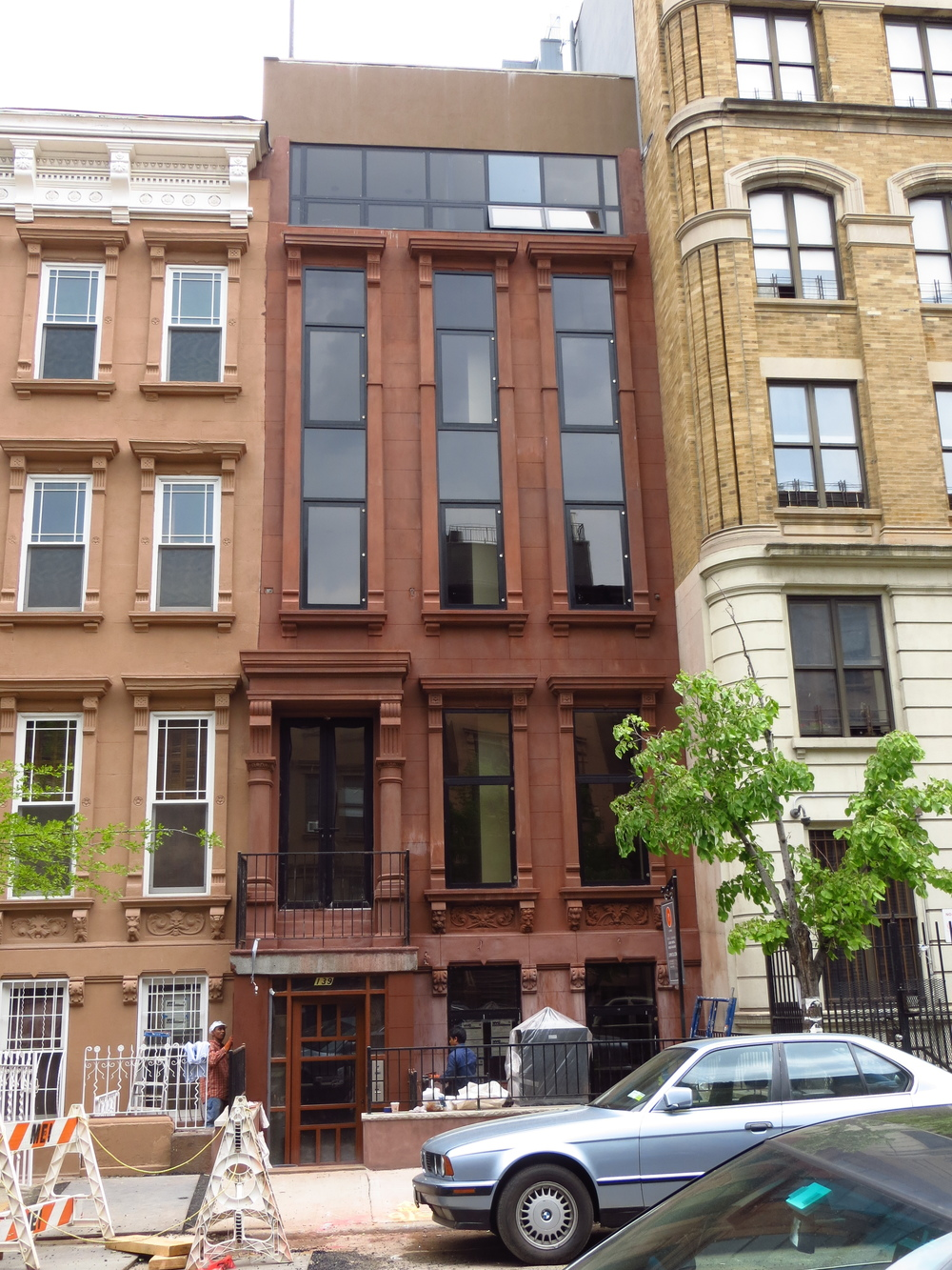 Modernized Harlem brownstone