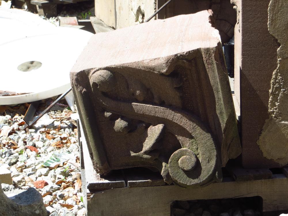 Spare stonework
