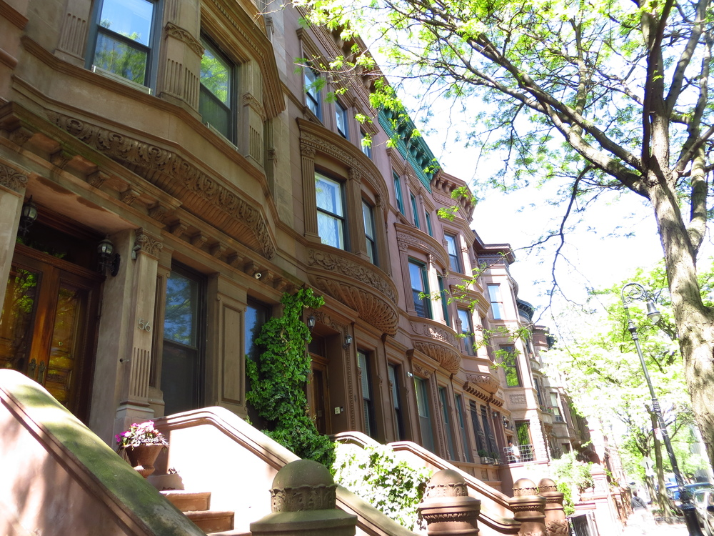 Again, with the brownstones