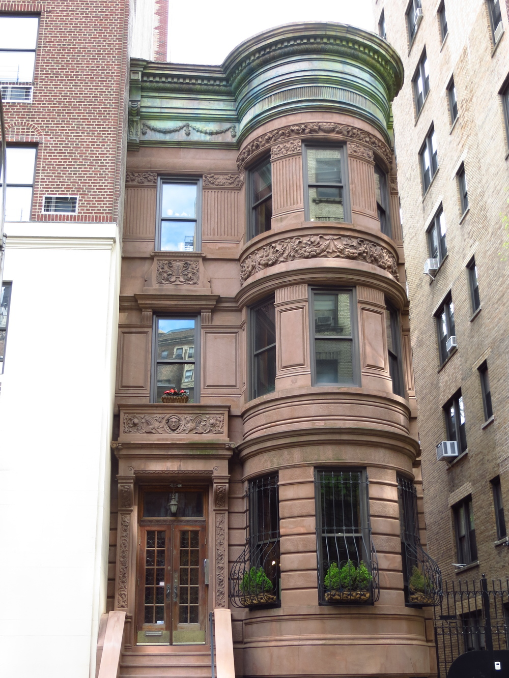 Cool brownstone
