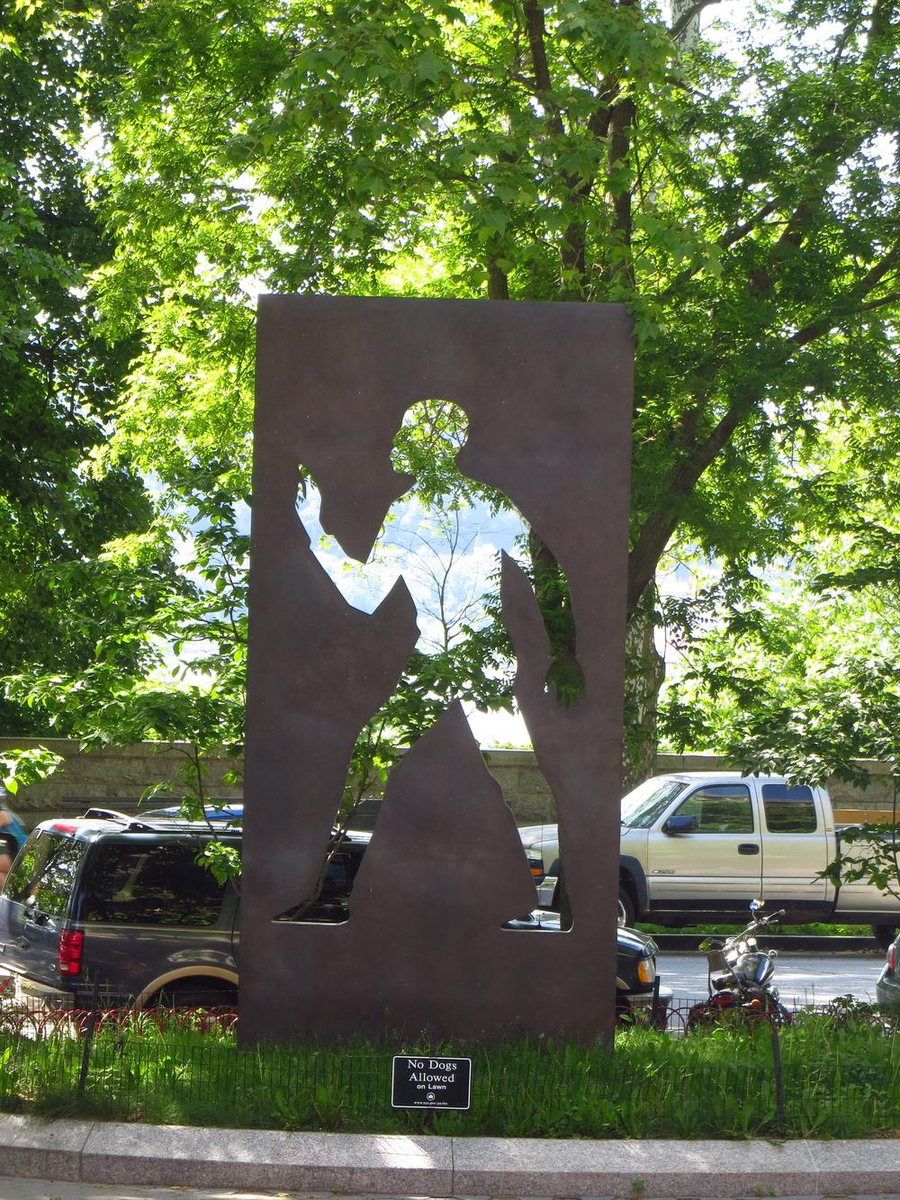 Ralph Ellison memorial