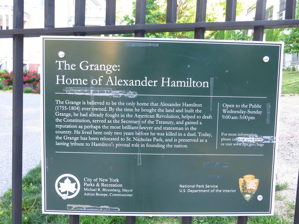 History of Hamilton Grange