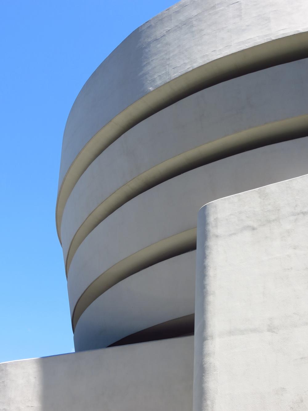 Guggenheim Museum - side