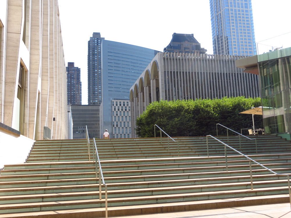 Steps to Lincoln Center