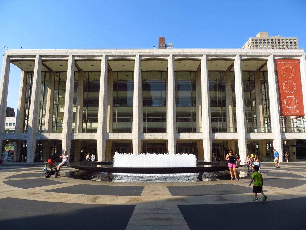 Lincoln Center again