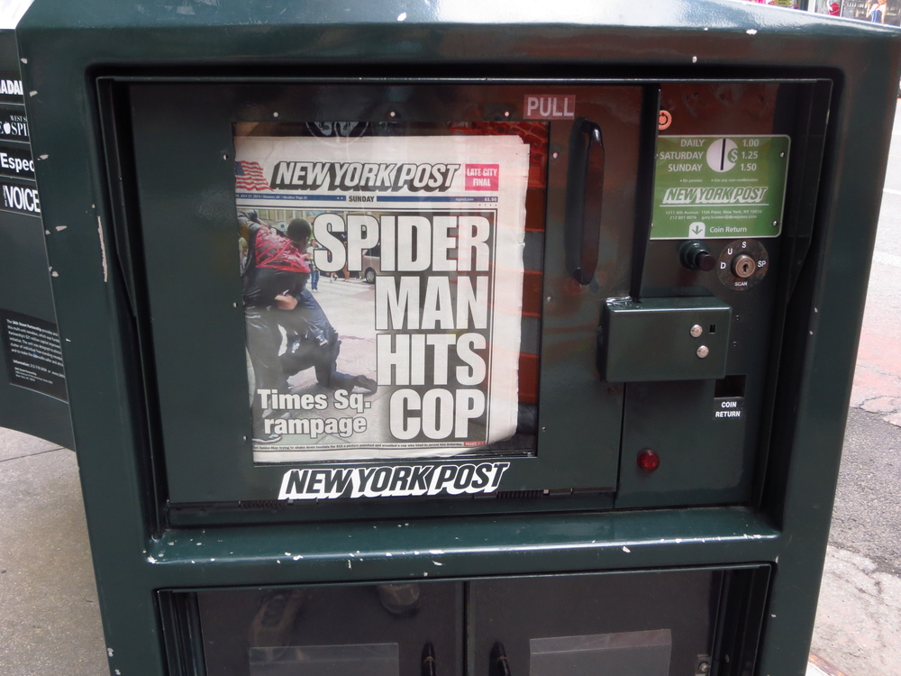 Spider Man is a menace!