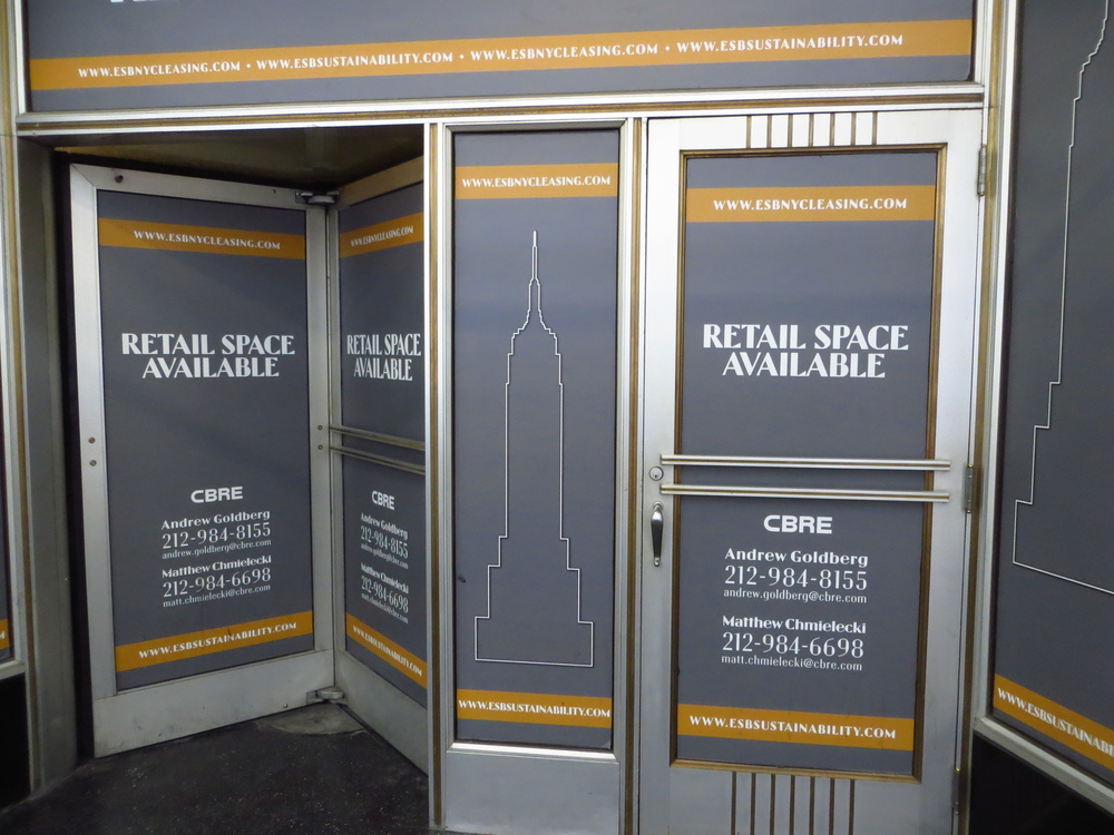 Want to rent space at the bottom of the Empire State Building?