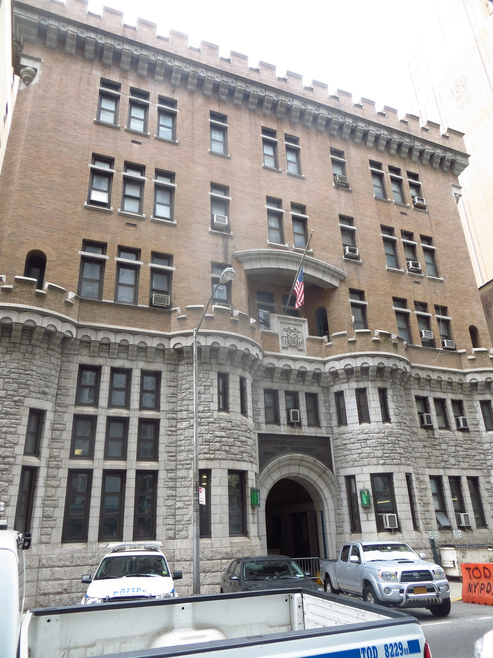 Police station castle
