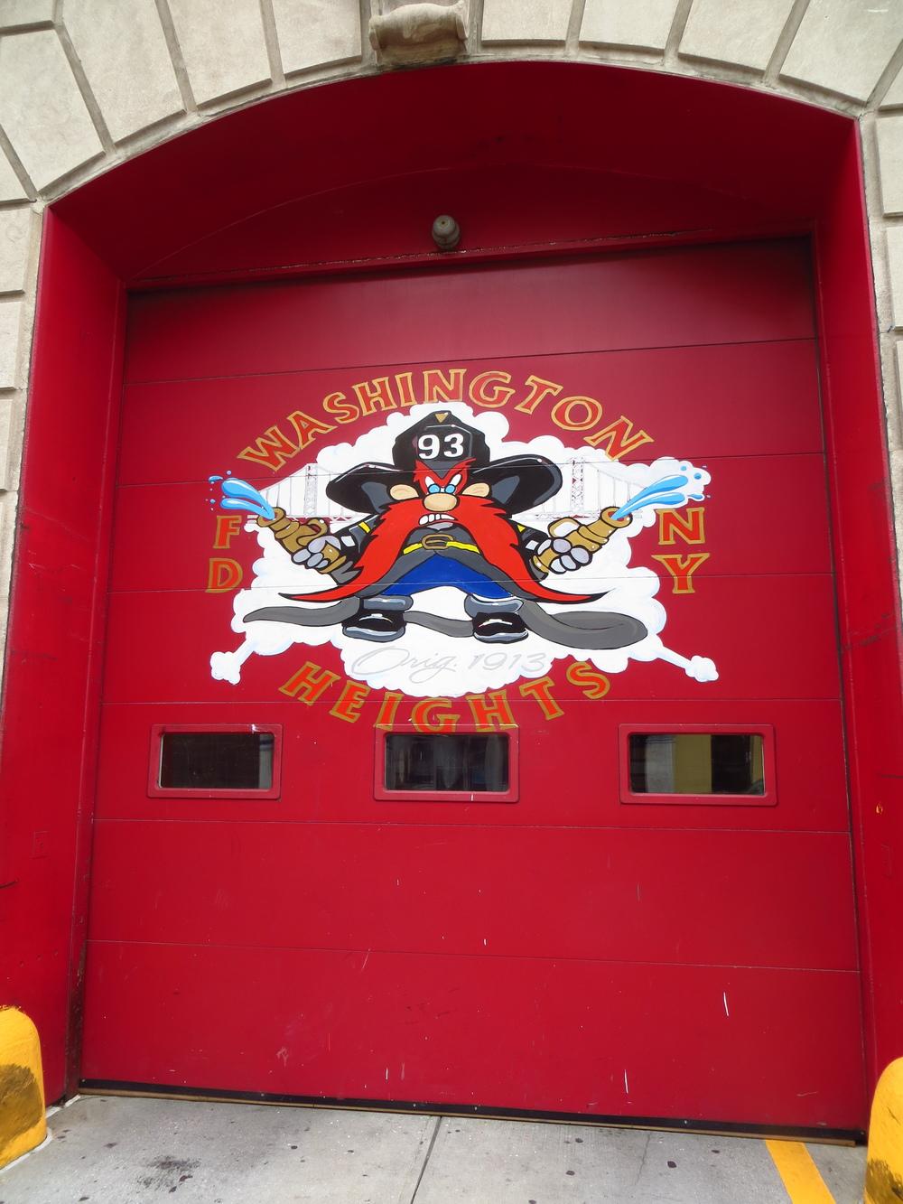 Fire station mascot