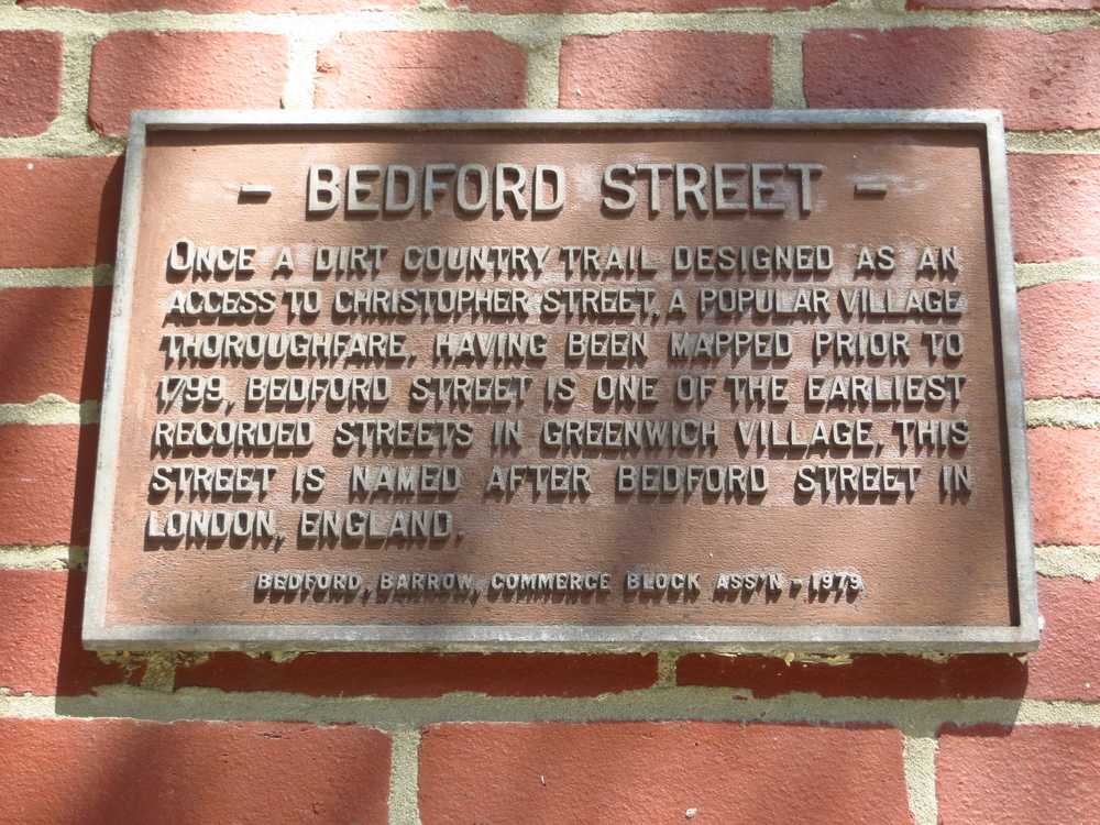 Bedford St. explanation