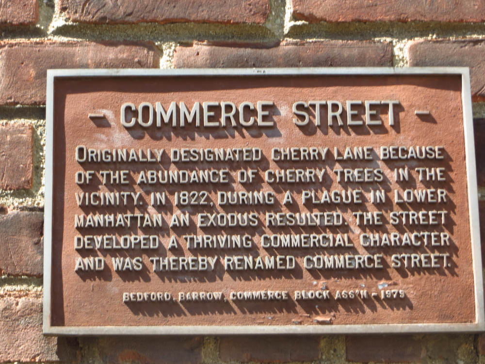 Commerce St. explanation
