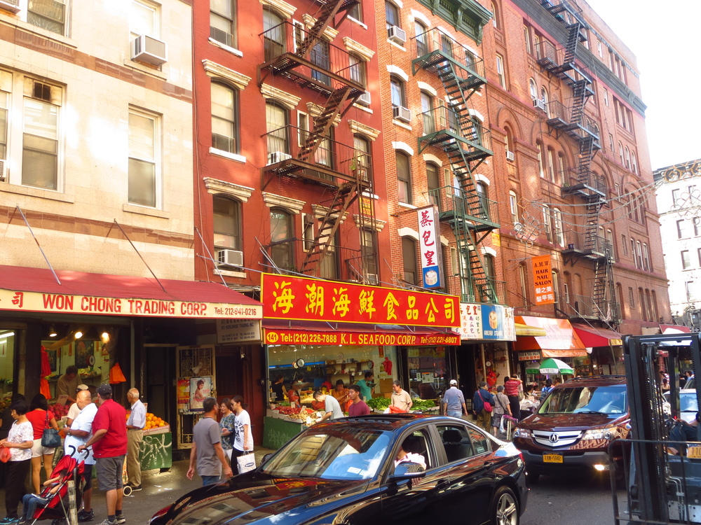 Chinatown markets