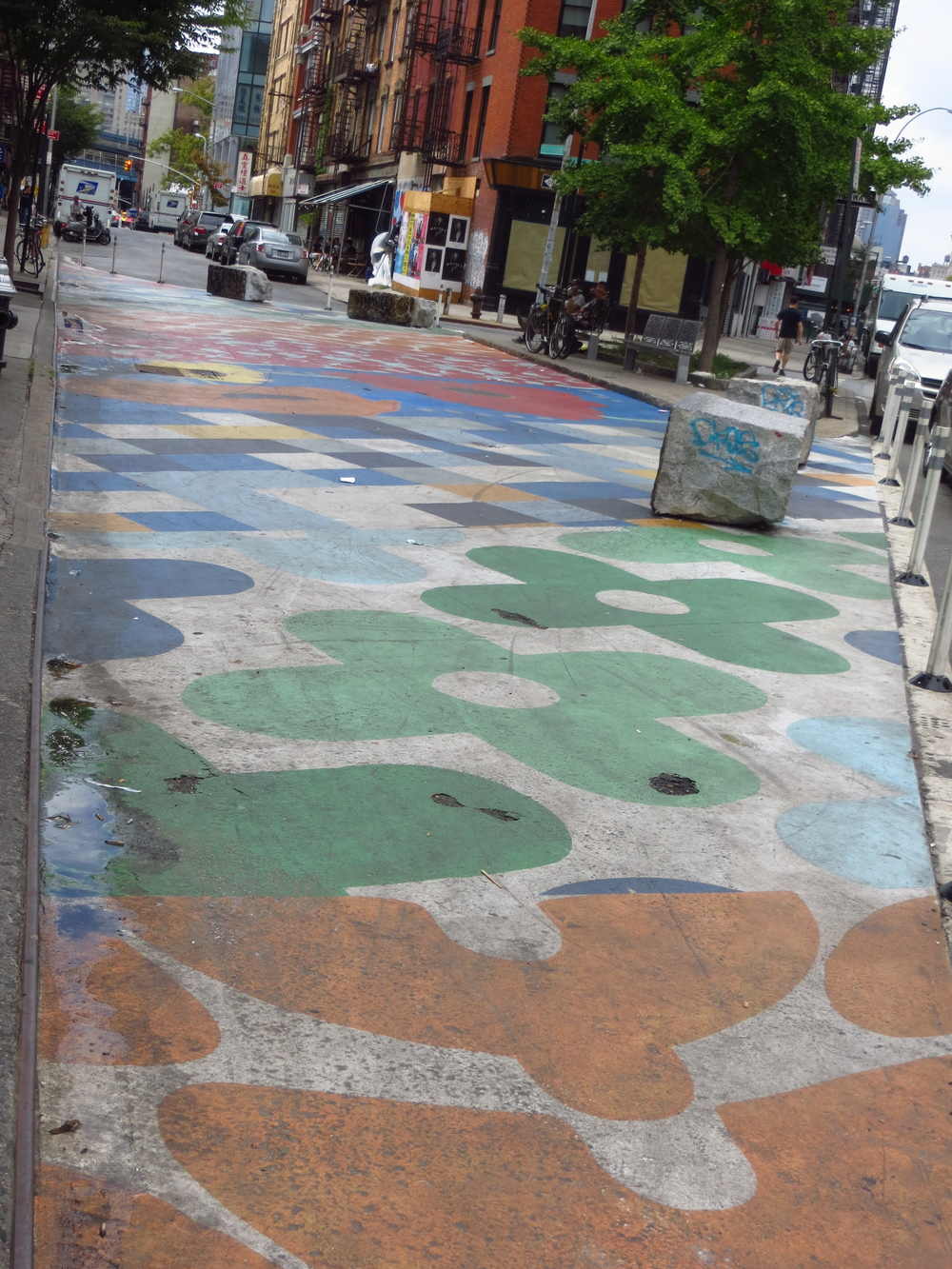 Painted street