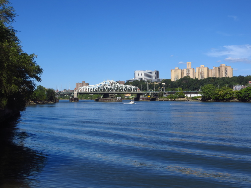 Harlem River and University Heights Bridge