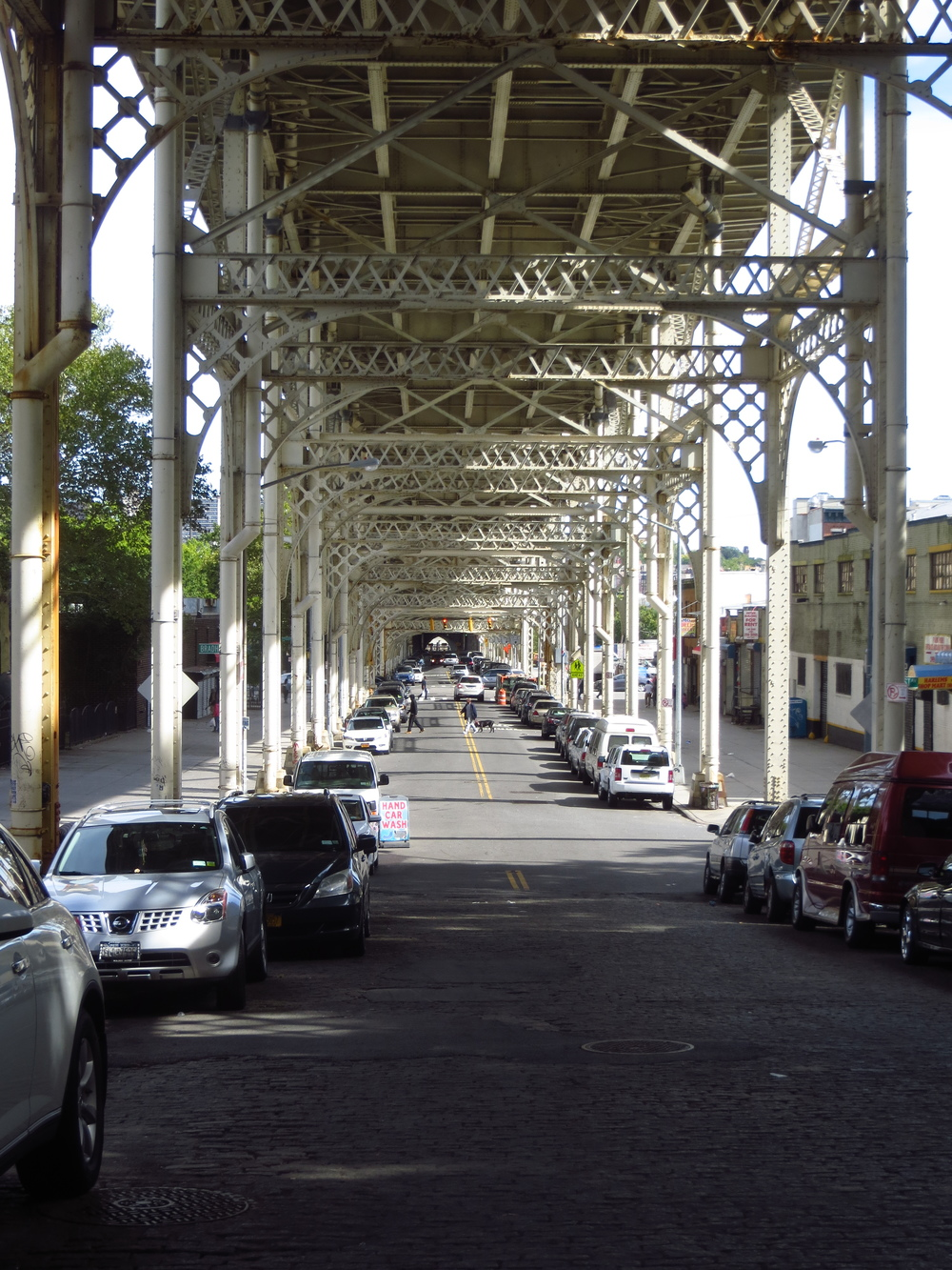 Under the 155th St. Viaduct
