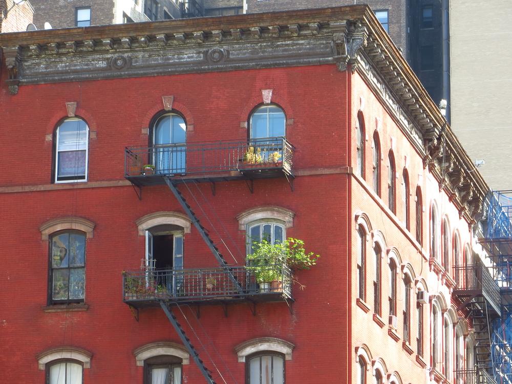 Reade St. balcony