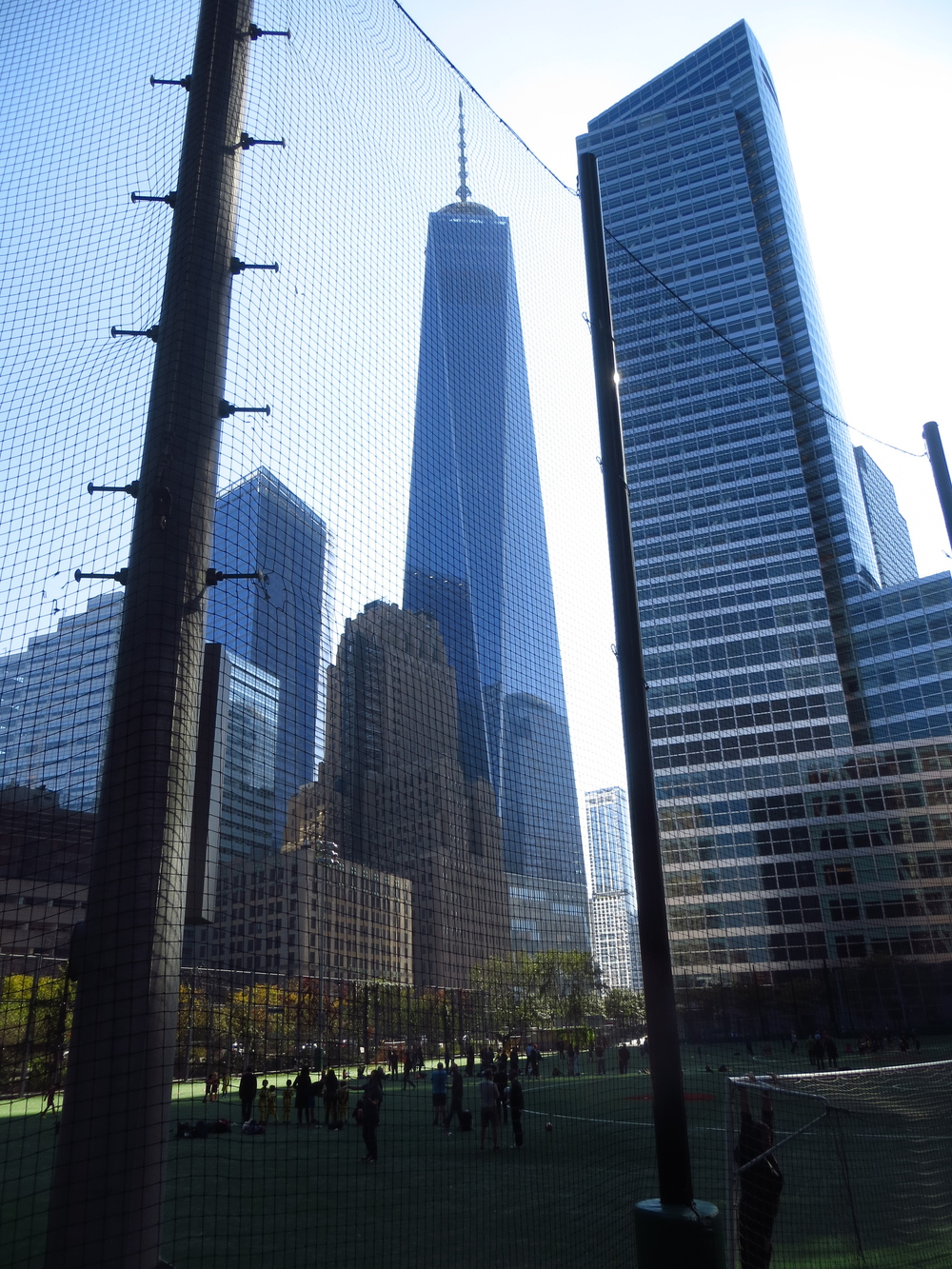 1 WTC over athletic field